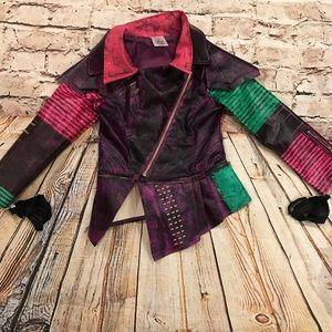 Disney Descendants Mal Girls pleather jacket